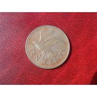 10 центов 1973 год Барбадос