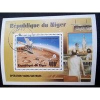 Нигер 1977 г. Космос. Блок #0036-K1