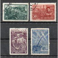 Великая Отечественная война СССР 1943 год серия из 4-х марок