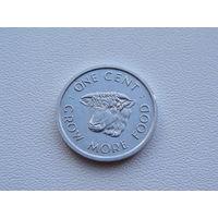 Сейшельские острова.  1 цент 1972 год  KM#17