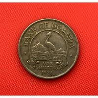 48-07 Уганда, 1 шиллинг 1976 г.