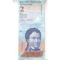 2 боливара  Венесуэлы 2008 года
