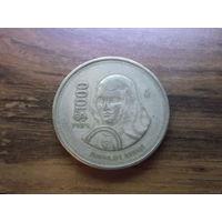 Мексика 1000 песо 1989