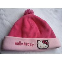 Флисовая шапочка Hello Kitty на 1-2 года