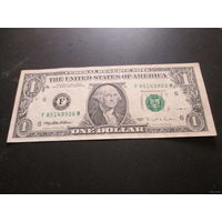 1 доллар США 1995 г., F 85149926 M, XF