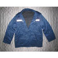 Фуфайка. Куртка ватная типа телогрейки, со светоотражающими элементами. Новая.