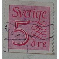 Марка нового номинала. Швеция. Дата выпуска:1951-11-29