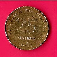 38-13 Филиппины, 25 сентимо 1995 г.