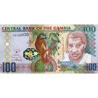 Гамбия 100 даласи  2013 UNC