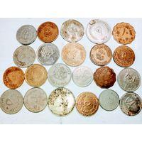 22 монеты Арабских стран с рубля .