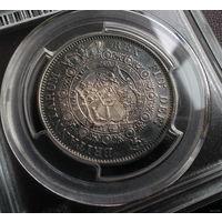 Англия 1/2 кроны 1816 год (серебро) AU55