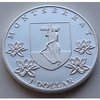 Монтсеррат. 1 доллар 2014 год  Unusual
