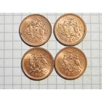 Барбадос 1 цент (список)