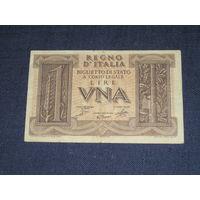 Италия , 1 Лира 1939