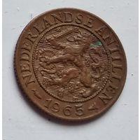 Нидерландские Антильские острова 1 цент, 1965  4-4-55
