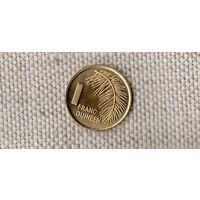 Гвинея 1 франк 1985 /флора/(Sx)