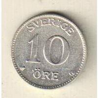 Швеция 10 эре 1940