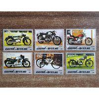 Гвинея-Биссау. 2005. Транспорт. Мотоциклы