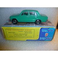"""Модель авто """"ВАЗ 2101"""". Made in USSR. 1:43. А-9"""
