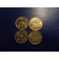 Уганда 50 центов 1974,1976 г.г.-цена за монету