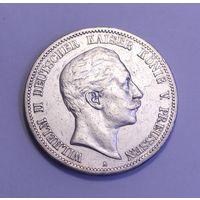 Германия, 5 марок 1898 год.
