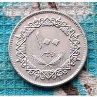 Ливия 100 дирхам, AU. Орел.