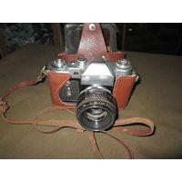 С 1 рубля!Фотоаппарат Зенит-3М с Гелиос 44