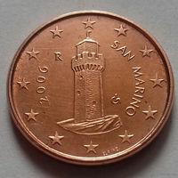 1 евроцент, Сан-Марино 2006 г., AU