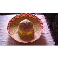 Шляпа соломенная. ( Самбреро ). суперр распродажа