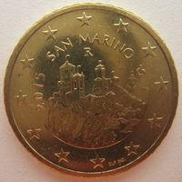 Сан-Марино 50 евроцентов 2015 г.