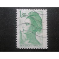 Франция 1985 стандарт 1,80 зел.
