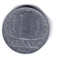 ГДР. 1 пфенниг. 1968 г.