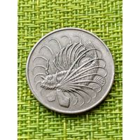 Сингапур 50 цент 1967