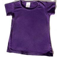 В садик На 4-5 лет фиолетовая майка, красивая и практичная