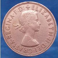1 пенни 1967 АНГЛИЯ
