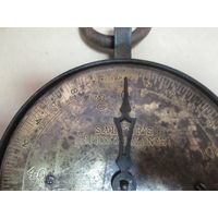 Безмен,весы salter spring balance scales russian Россия кон.19 века.