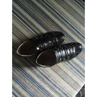 Туфли закрытые кожа стелька 20-5
