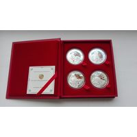 Набор монет Мушкетеры 2009 год!!! Пруфф!!!