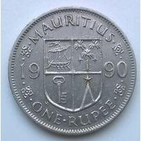Маврикий. 1 рупия 1990 г.