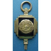 Кулон Hunter College NY 1936г  10К gold    1/20 винтаж