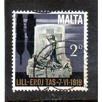 Мальта.Ми-399.Monument 1919. Серия: 5-я годовщина независимости. 1969.