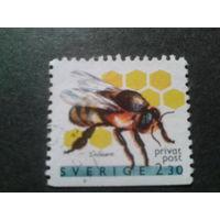 Швеция 1990 пчела