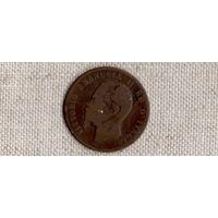 Италия 10 чентезимо 1863 /(Va)