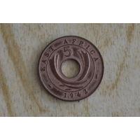 Восточная Африка 5 центов 1942