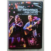 DVD. Mike & The Mechanics+Paul Carrack. Live at Shepherds Bush London.