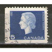 Канада. Михель- 352-Ф. Гашеная.