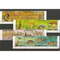 Бурунди 1973 Фауна полная серия 24 марки