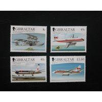 Гибралтар. 2006. Транспорт. Авиация. Самолёты