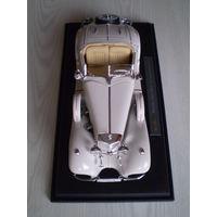 Mersedes - Benz 500 K Typ Specialroadster 1936 г. 1/18 металлическая модель автомобиля