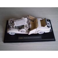 Модель Mersedes - Benz 500 K Typ Specialroadster 1936 г. 1/18 металлическая модель автомобиля